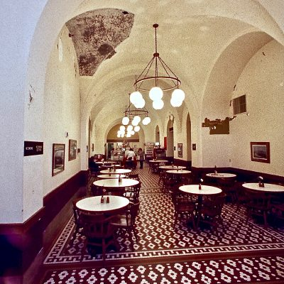Figure 1 Cafeteria before restoration