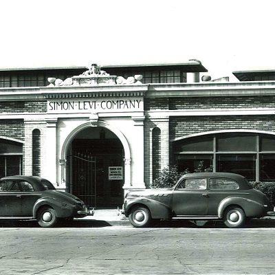 Figure 1 Simon Levi Company building (cca.1945)