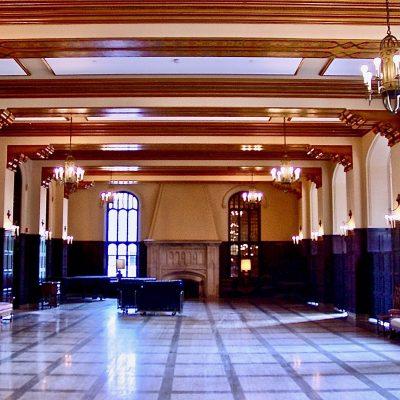 Figure 10 Great Hall after restoration