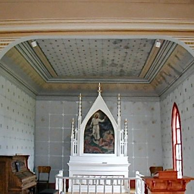 Figure 11 View of the Chancel after restoration