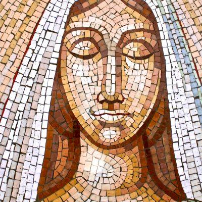 Figure 14 Detail of Virgin Mary afterrestoration