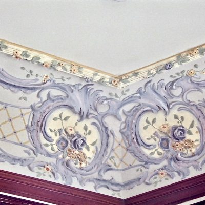 Figure 14 Glass Room ceiling after restoration - detail