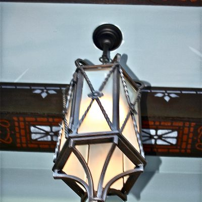 Figure 14 - View of the replicated light fixture