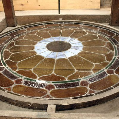 Figure 15 Stainglass skylight