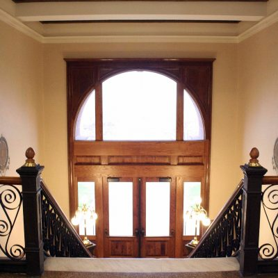 Figure 3 Second Floor, view of the main staircase