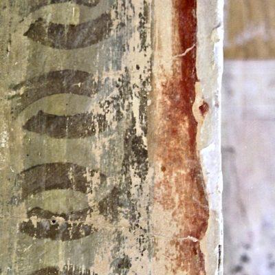Figure 6 Border geometric design discovered under wallpaper - detail