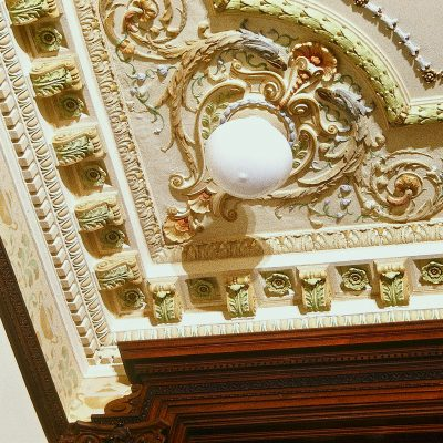 Figure 6 Grand Staircase ceiling after restoration detail