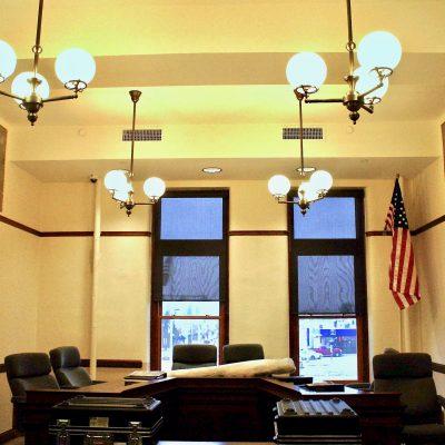 Figure 7 Commissioners Room