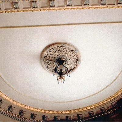 Figure 8 Tourette ceiling after restoration