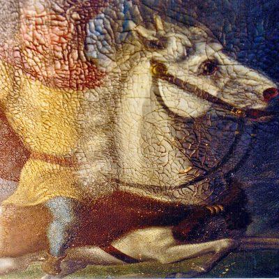 Figure 1 Emperor Herman painting before restoration restoration