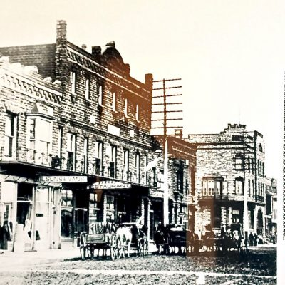 Figure 1 Ferris Grand Opera House building soon after construction in 1899