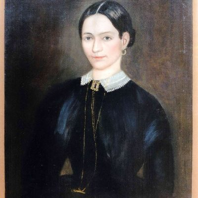 Figure 3 Portrait of a Young Woman after restoration