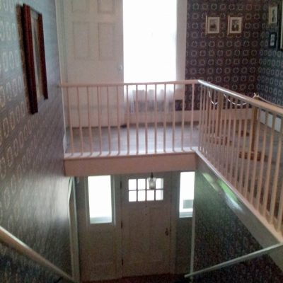 Figure 4 The main staircase and landing on the second floor