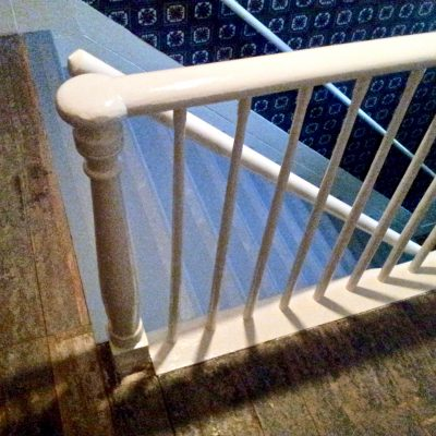 Figure 6 Staicase; post, balustrade, and railing